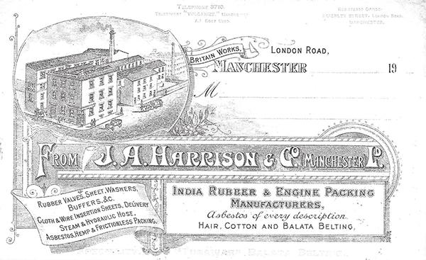 J A Harrison gaskets